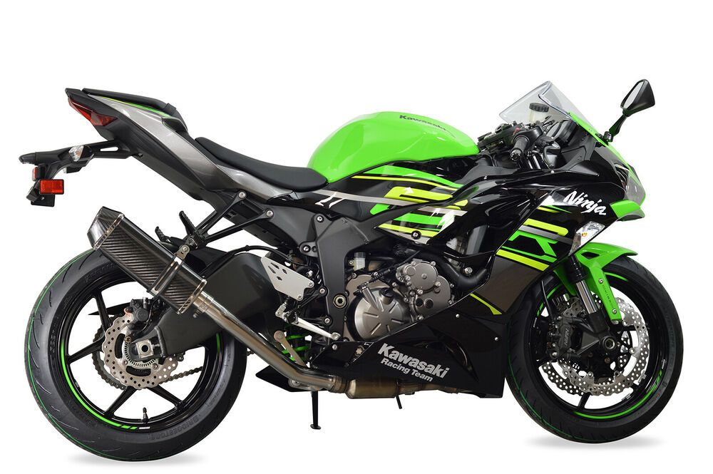 Details About Kawasaki Zx6r Decat Exhaust 2019 Diabolus Carbon Tri Oval Xls Carbon Outlet Kawasaki Zx6r Motorcycle Parts And Accessories Zx6r