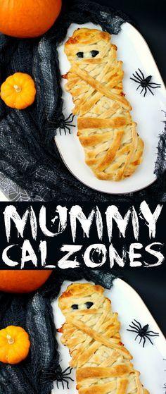 mummy calzones recipe pinterest halloween parties halloween foods and halloween fun