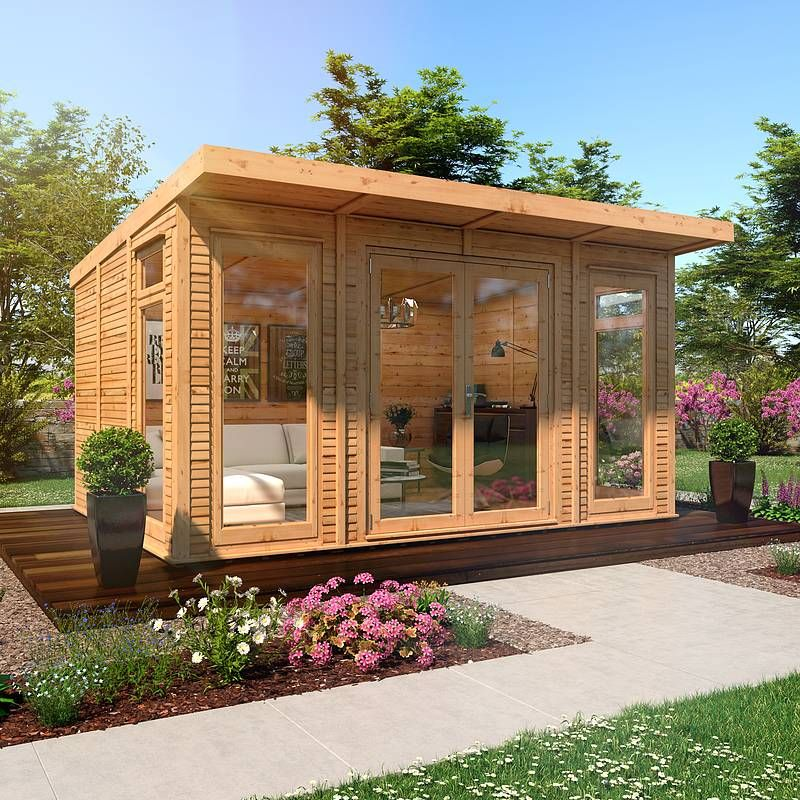 Insulated Garden Shed >> Waltons 3 X 4m Insulated Garden Room In 2019 Insulated