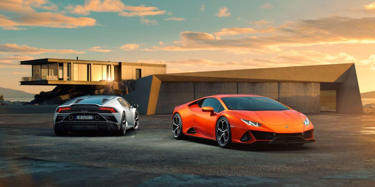 The Lamborghini Huracan Evo Lands With New Aero Upgrades And