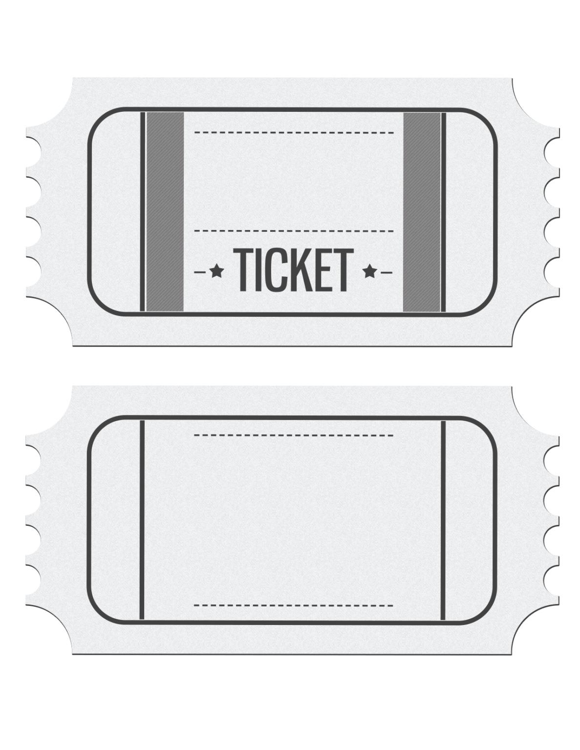 Blank Ticket Template Clipart Regarding Blank Admission Ticket Template Movie Ticket Invitations Movie Ticket Template Ticket Invitation