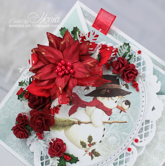 Moja Papierowa Kraina Swiateczna Kartka Z Balwankiem Christmas Cards Christmas Christmas Wreaths