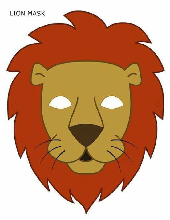Pin by lauris pe on Printable animal masks Lion mask, Animal masks