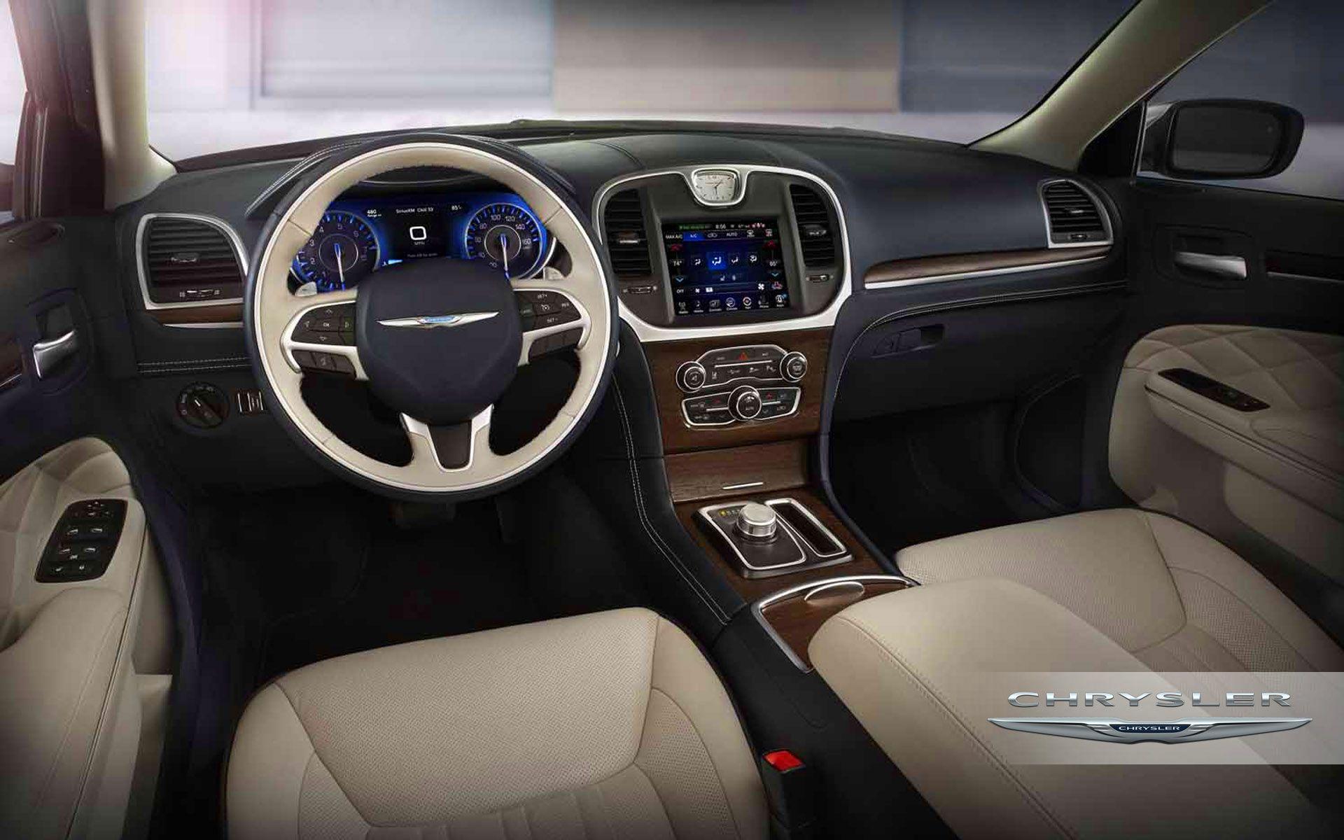 2017 Chrysler 300 Interior Dashboard Image Wallpaper