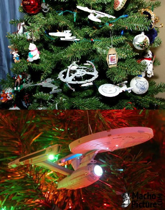 Star trek christmas ornaments - 3 PHOTO! - Star Trek Christmas Ornaments - 3 PHOTO! Christmas Ornaments