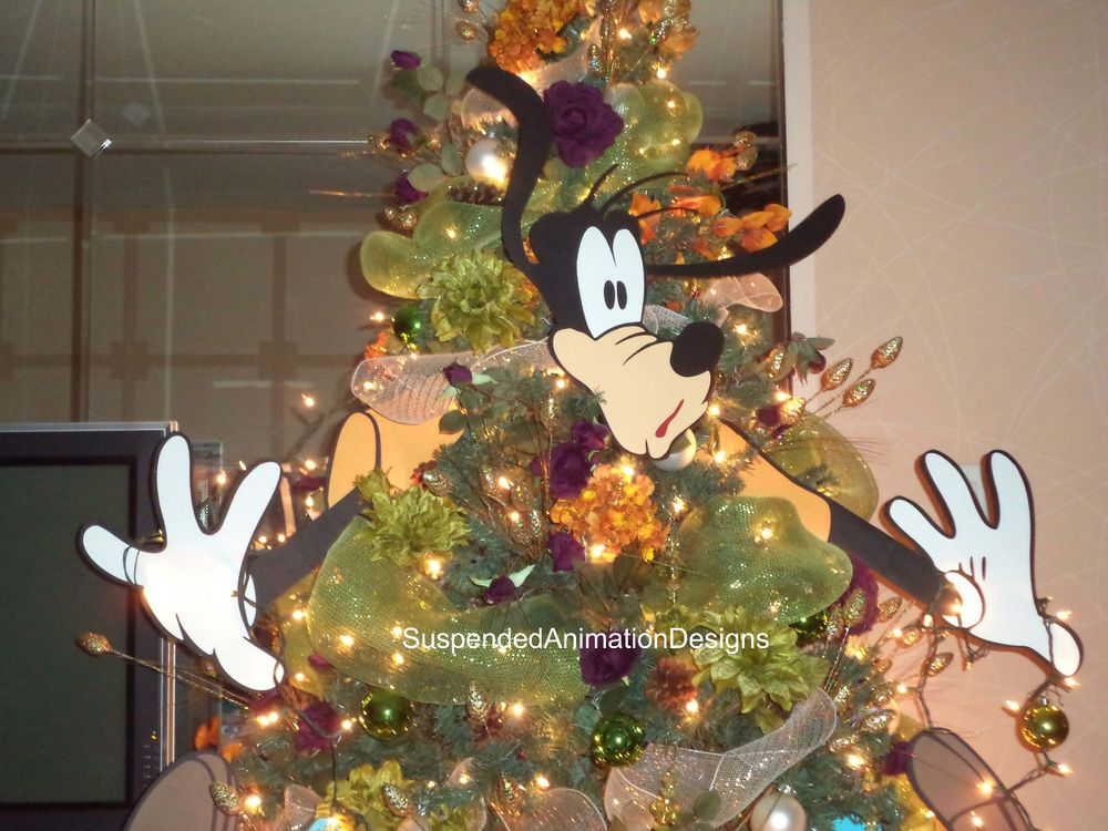 New 5 Piece Large Ornament Set To Build Goofy For Your Christmas Tree Disney In Art Disney Christmas Decorations Disney Christmas Christmas Decorations Tree