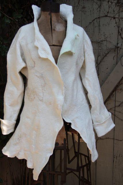 Studio 907: Making a Seamless Nuno Felted Jacket