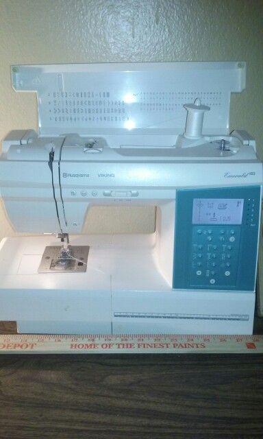 Husqvarna Viking Emerald 40 Sewing Machine Pinterest Vikings Beauteous Sapphire 835 Sewing Machine Review