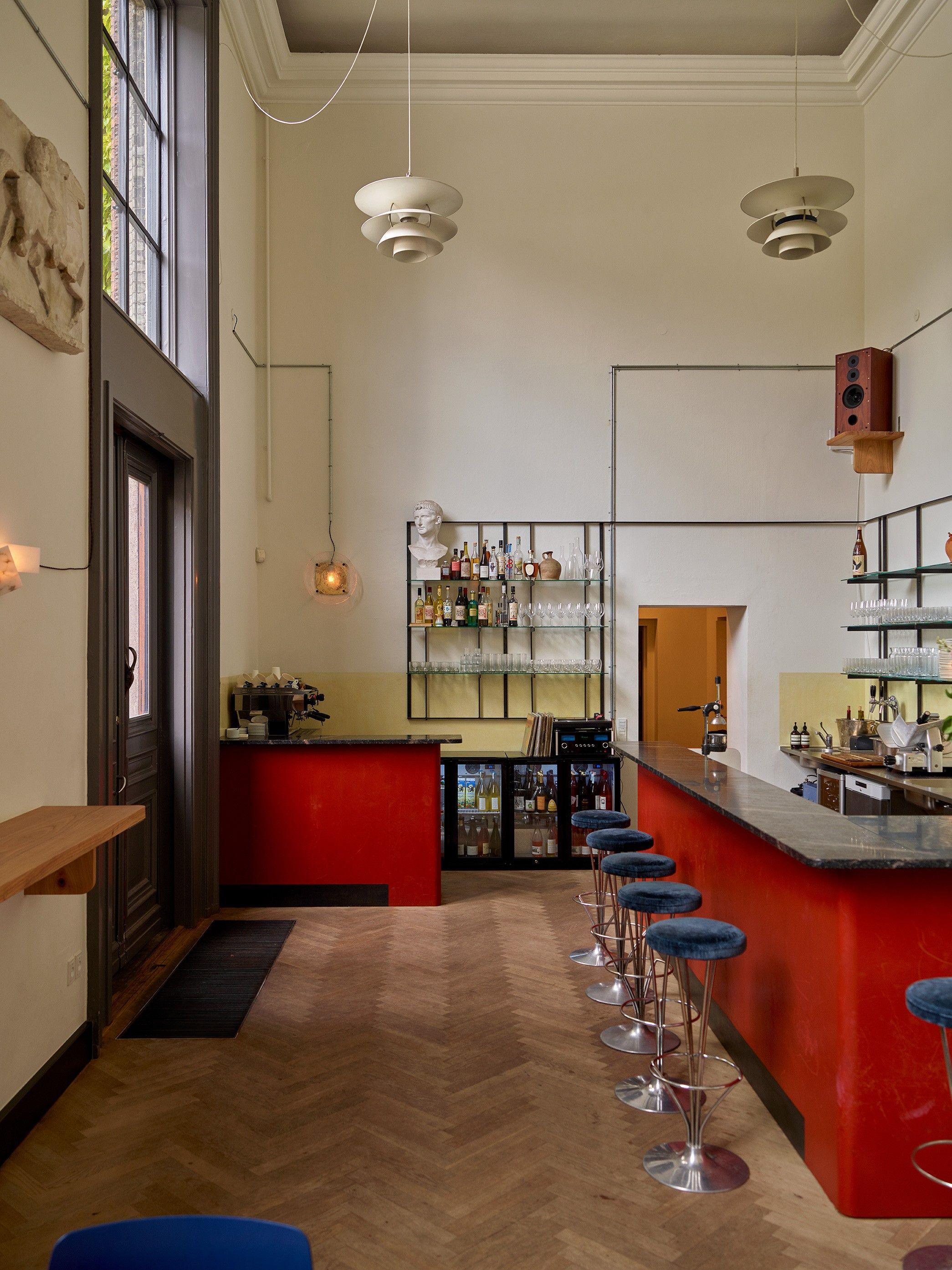 Reinventing the museum café apollo bar kantine in copenhagen remodelista