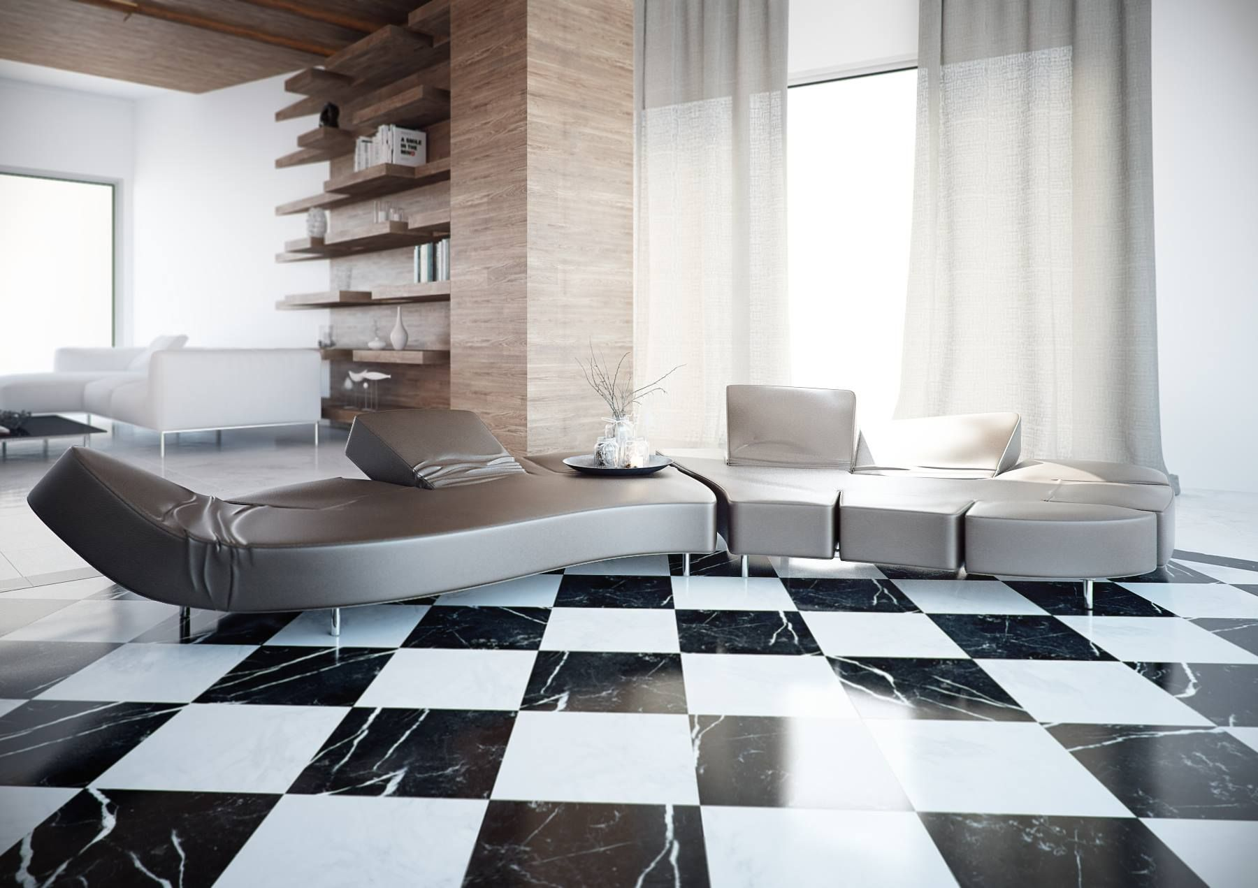 Home floor tiles design gallery home flooring design glamorous home interior design with a curved ceiling cosy brown glamorous home interior design with a dailygadgetfo Choice Image