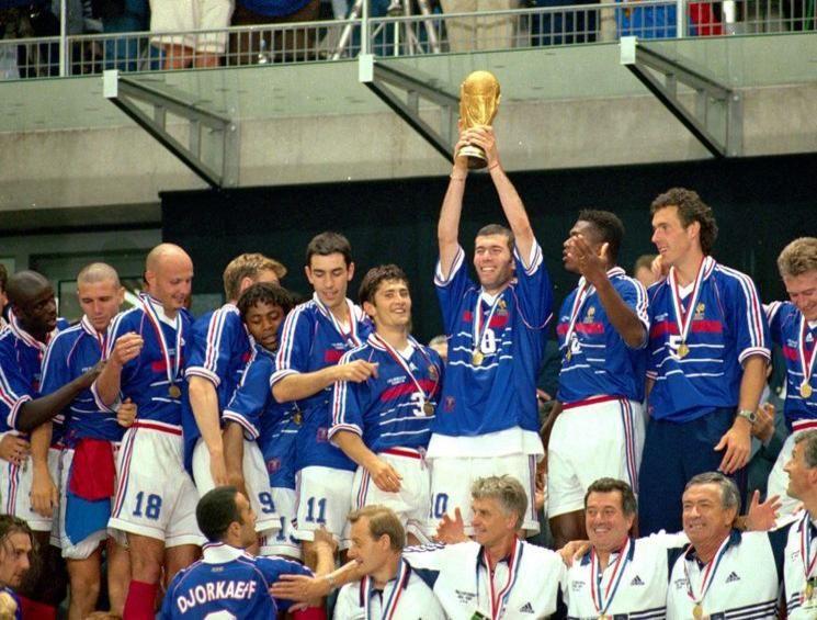 France 1998 Fifa World Cup Sports Magazine Fifa World Cup France Fifa World Cups