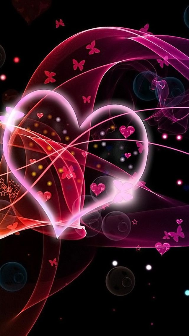 Herz Liebe iPhone 5 Wallpaper
