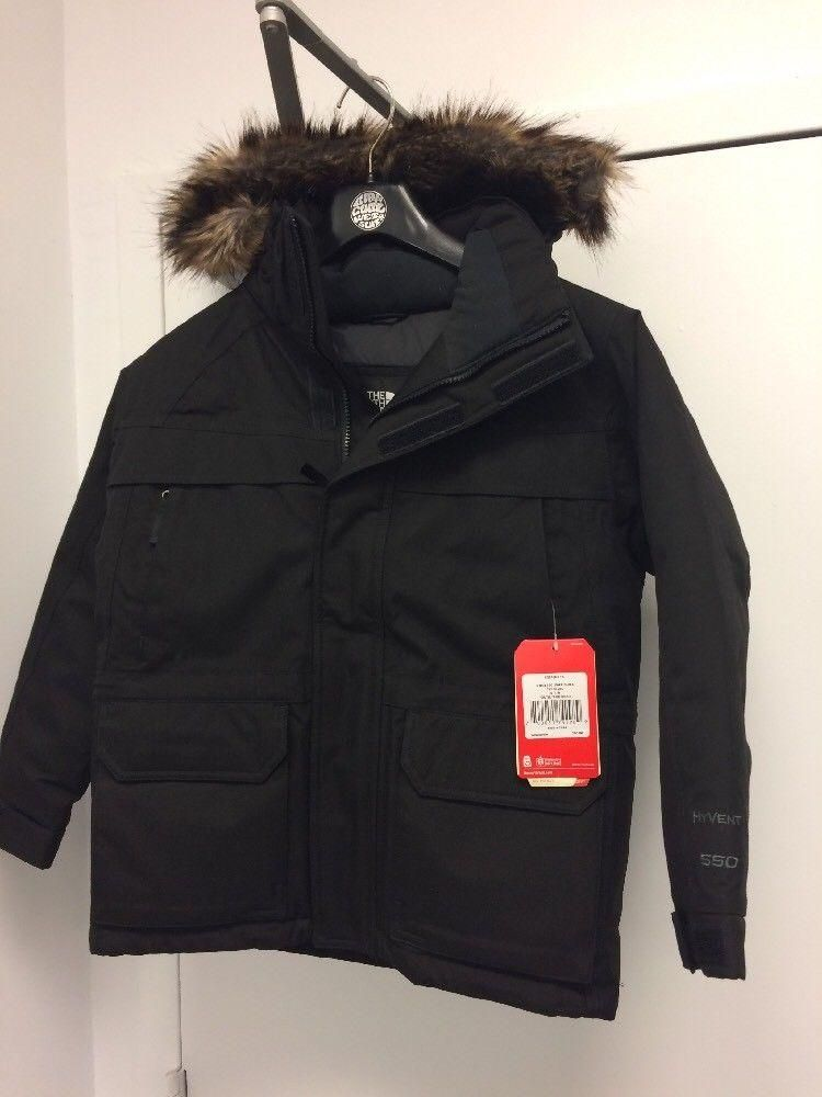 2216e61ba The North Face Boys/youth McMurdo down Parka TNF Black Sz:S 7/8 ...