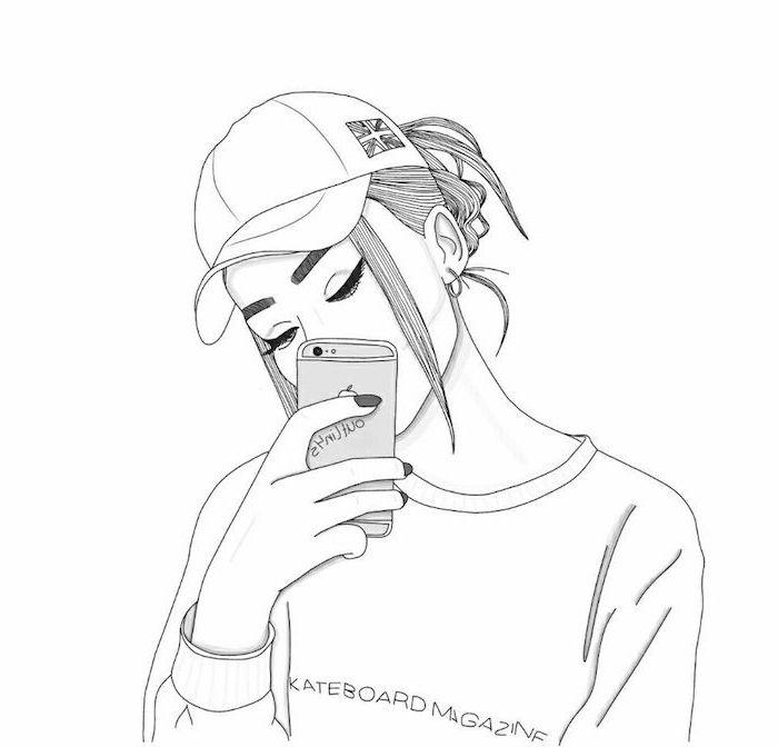 ▷ 1001 + idées pour réaliser un dessin swag – hommage à la fille swag