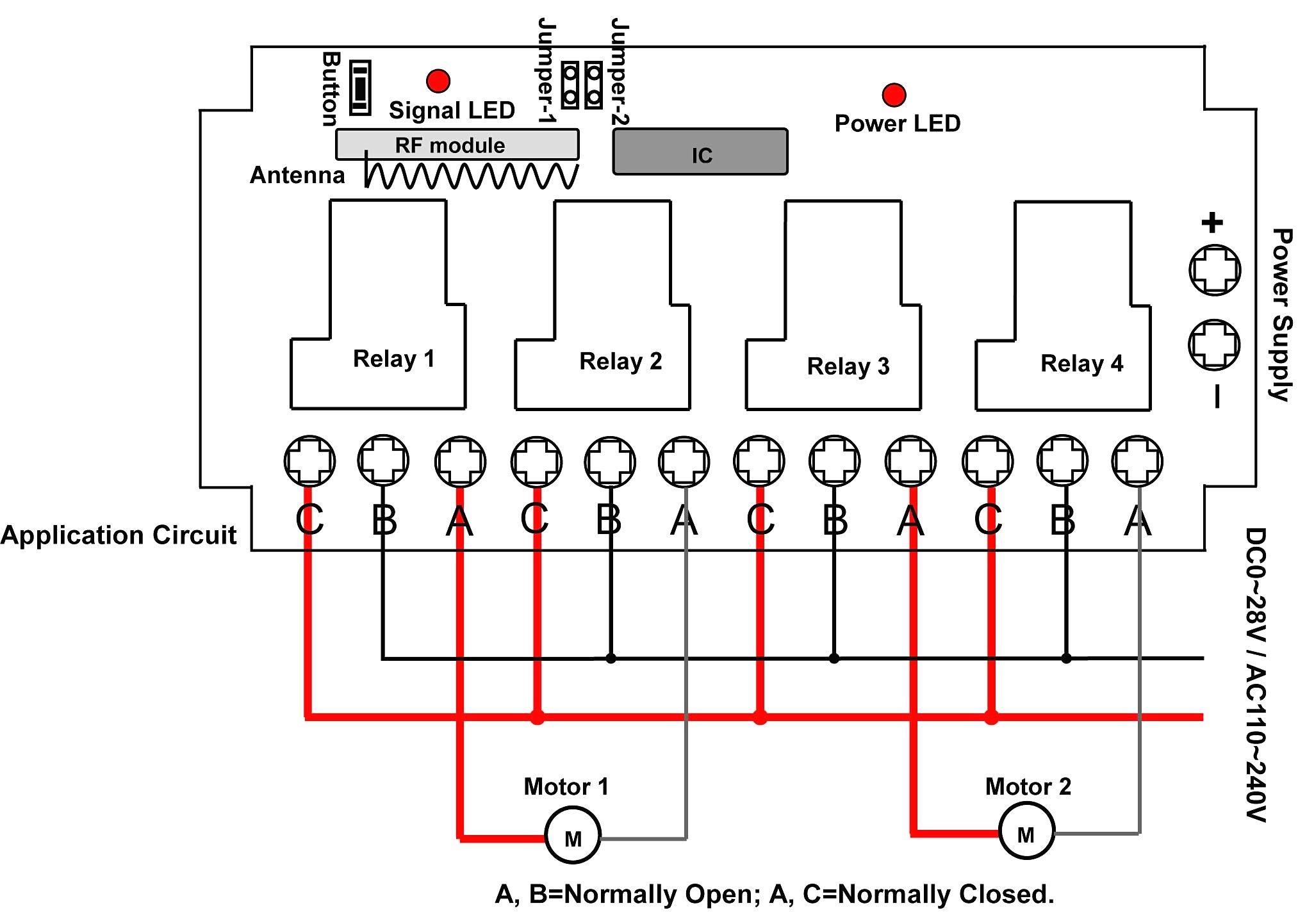 Lift Master Door Opener Motor Wiring