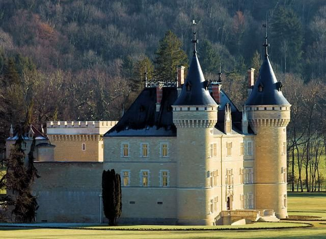 French Chateau Jura France