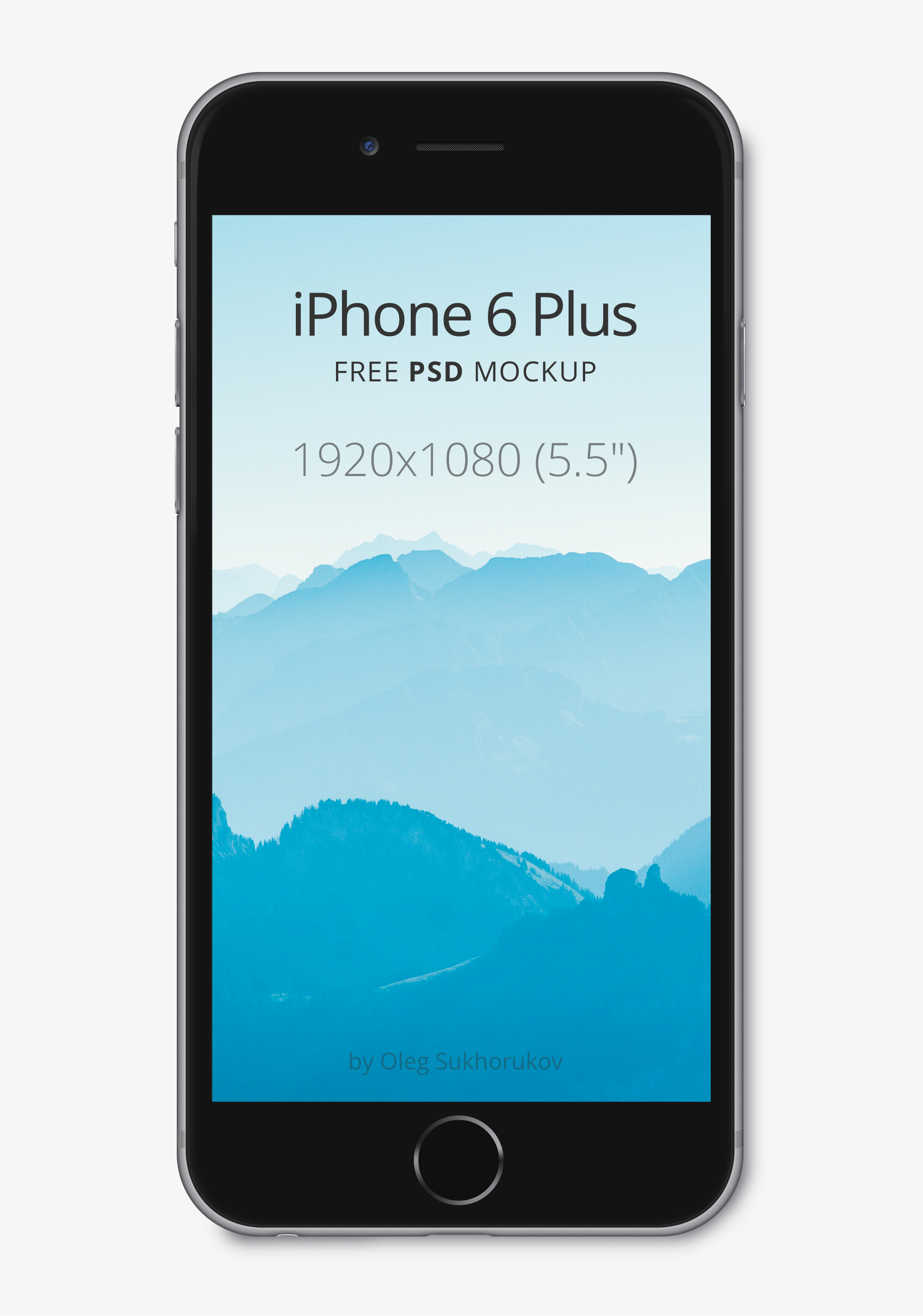 0139b009b4f 15 Free iPhone 6, iPhone 6S, and iPhone 6 Plus Mockups of 2016 (PSD, Ai)