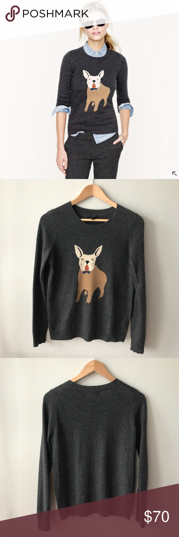 J Crew Frenchie Sweater My Posh Picks Pinterest