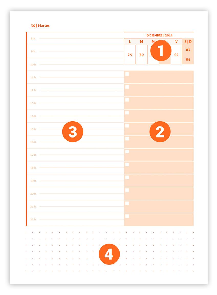 Agenda diaria 2017 Premium | Life planner, Stamps and Planners