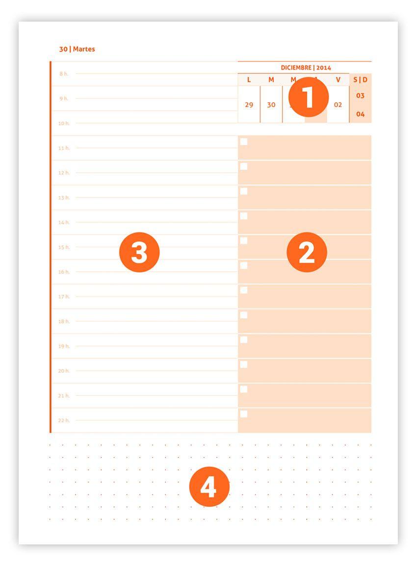 Agenda diaria 2017 Premium | DIY gift boxes & bags & stamps ...