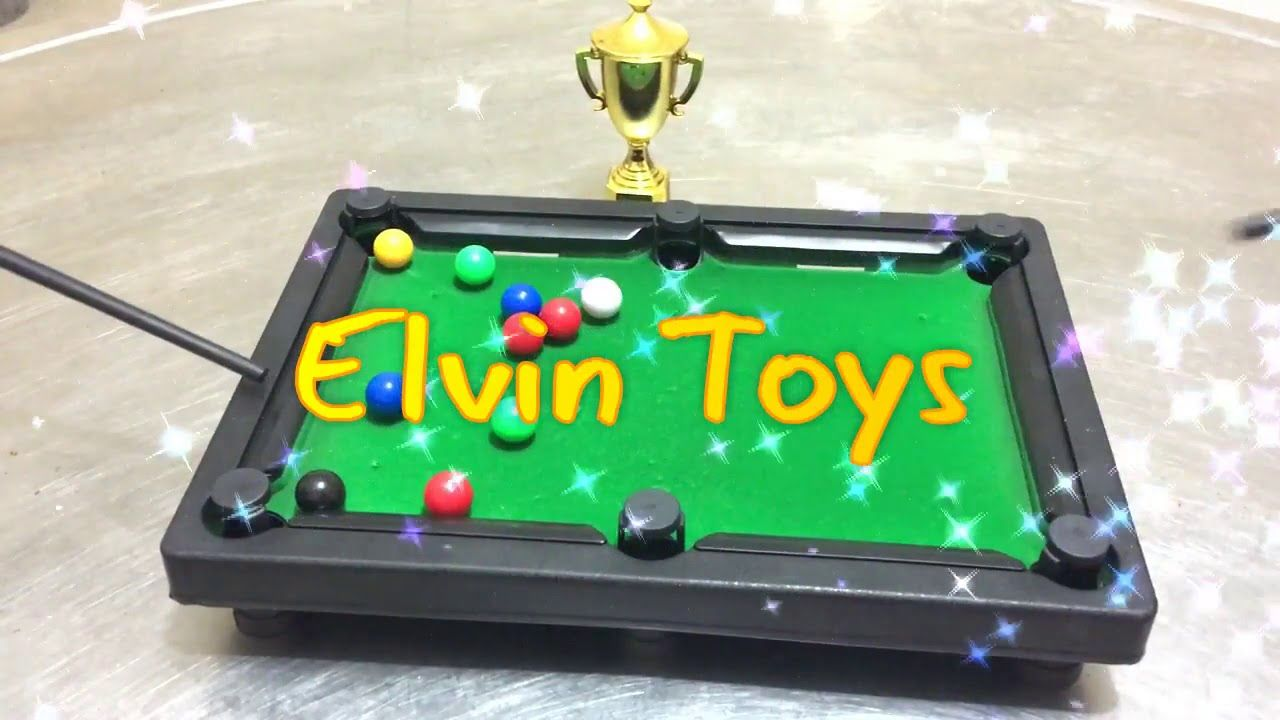Mini Table Top Pool Snooker Billiards Toy (With images