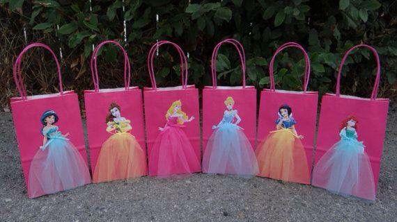 Bolsitas Princesas Princess Birthday Party Princess Theme Party Disney Princess Birthday Party