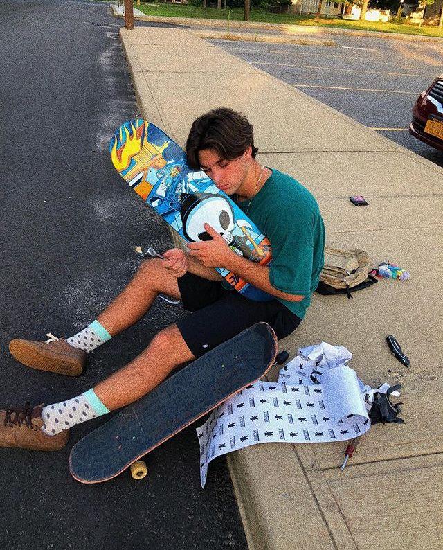 Skater Boy Aesthetic Girl