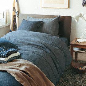 無印で布団カバーと枕カバーを買いました