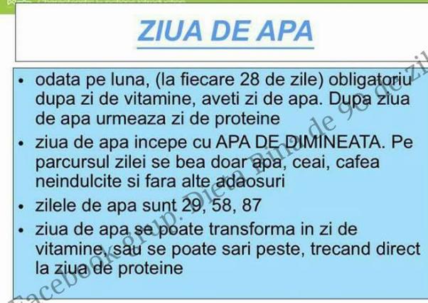 dieta cu spirulina si apa