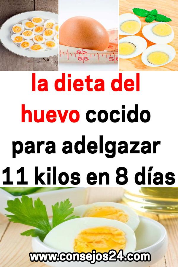 como bajar de peso con huevos duros