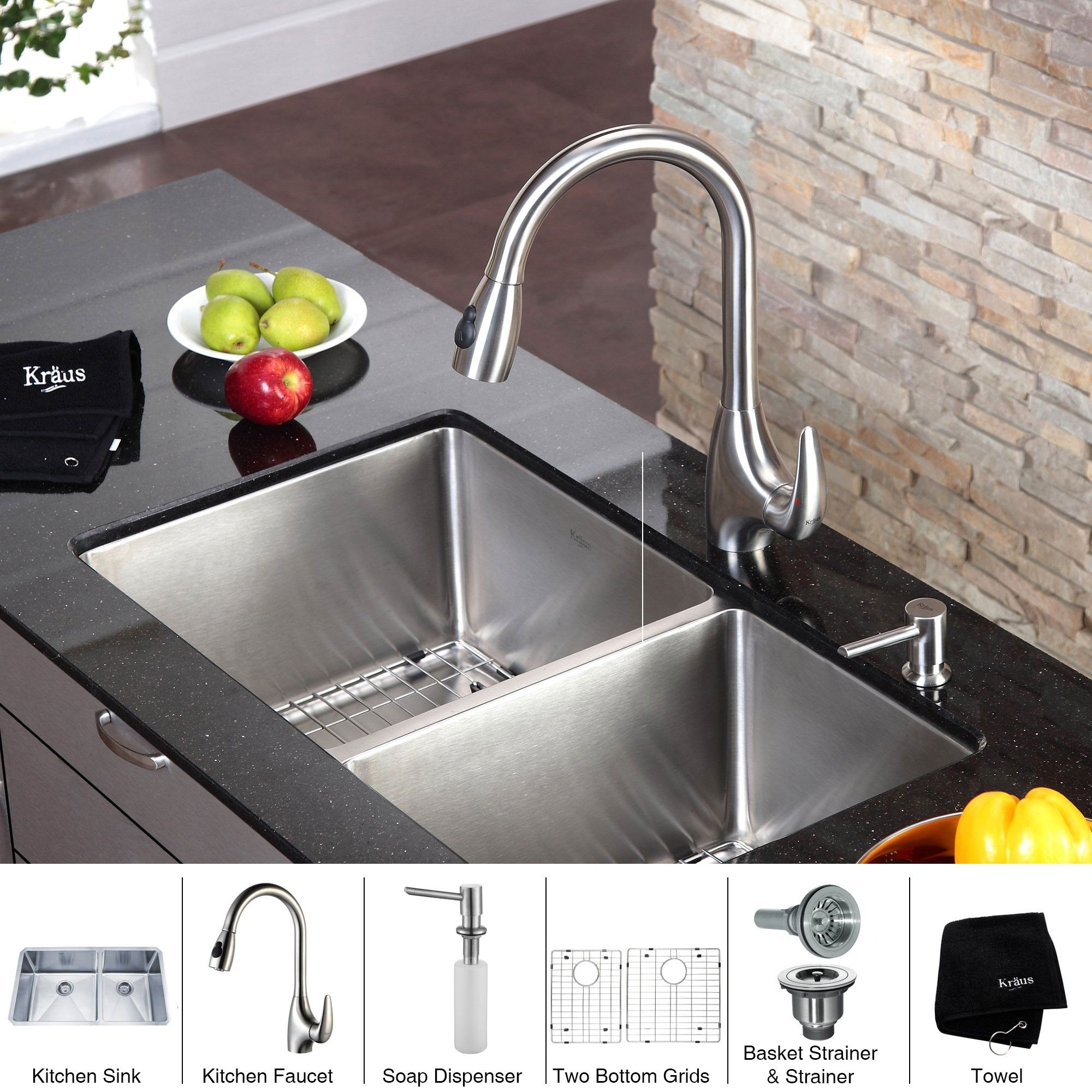 Kitchen Sink Faucets With Soap Dispenser - http://www ...