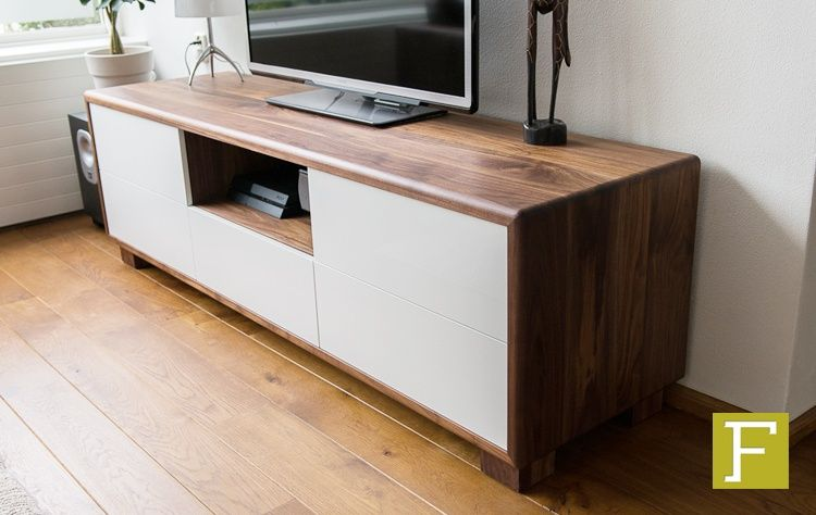 Tv meubel dressoir maatwerk design meubelmaker fijn timmerwerk