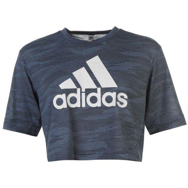 adidas shirt cropped