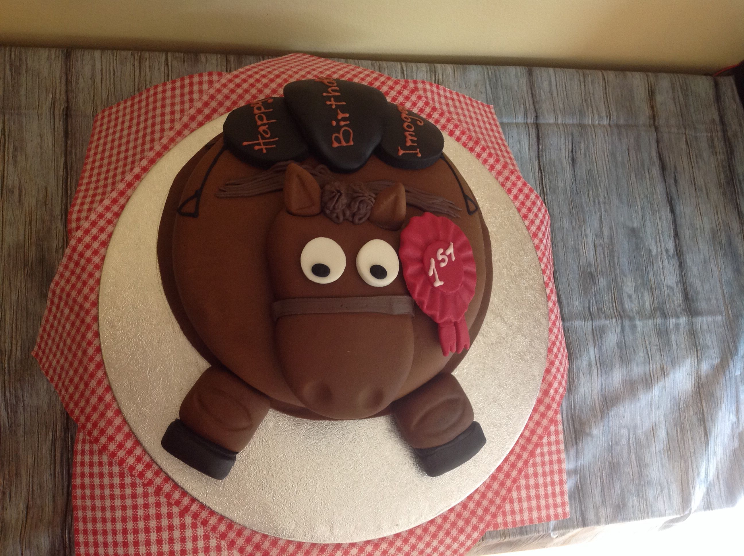 Fantastic Sparky The Pony Birthday Cake To Order From Waitrose Only GBP25