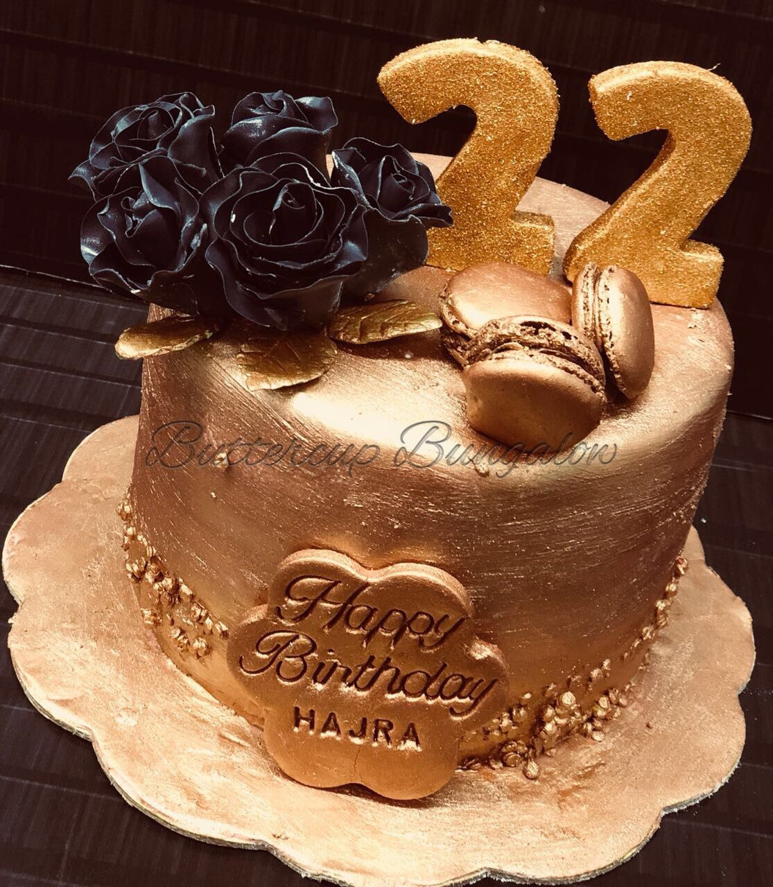 For 22 Year Old Hajra A Shimmery Delight With Some Chocolate