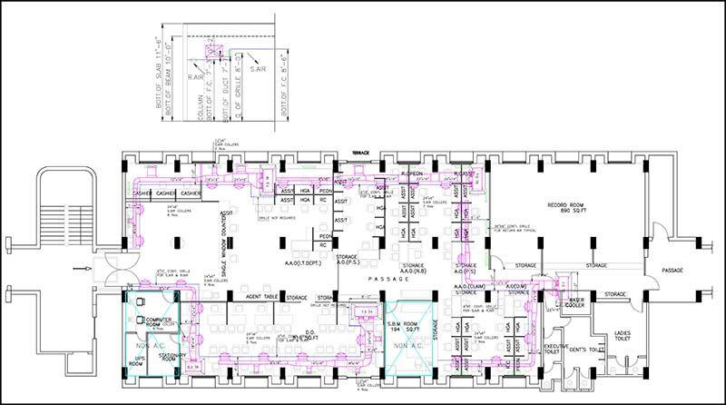 Hvac Drawing Plans | Wiring Diagram