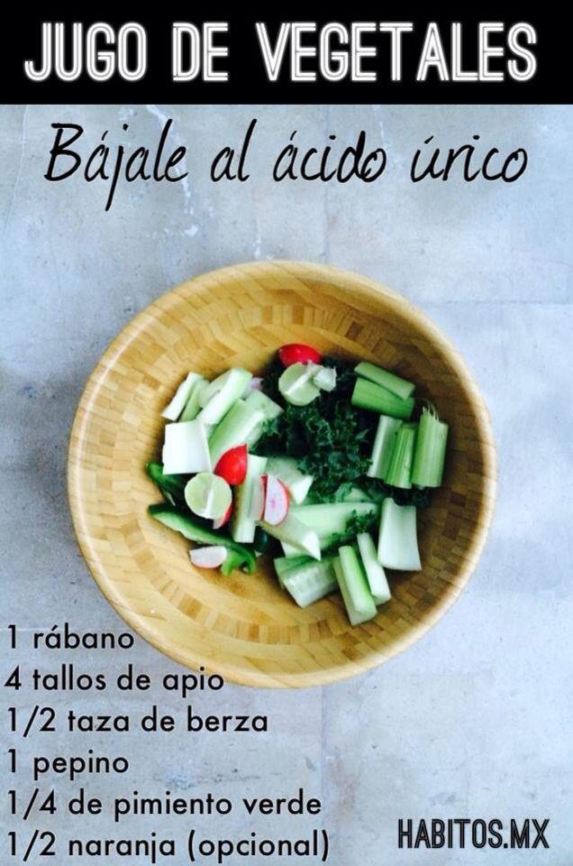 Ensalada Para Ayudar Al ácido Urico Workout Food Food Health Food