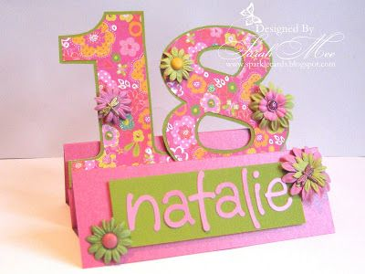 18th birthday card ideas handmade | Birthday cards | 18th