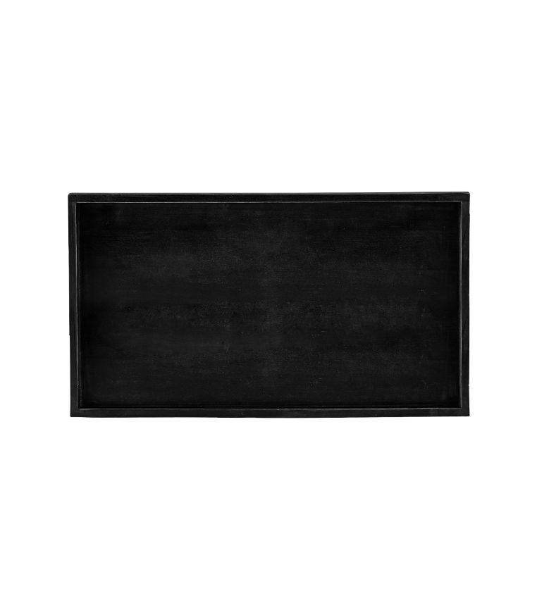 bovictus - KJ Collection Deko-Tablett Schwarz von bovictus