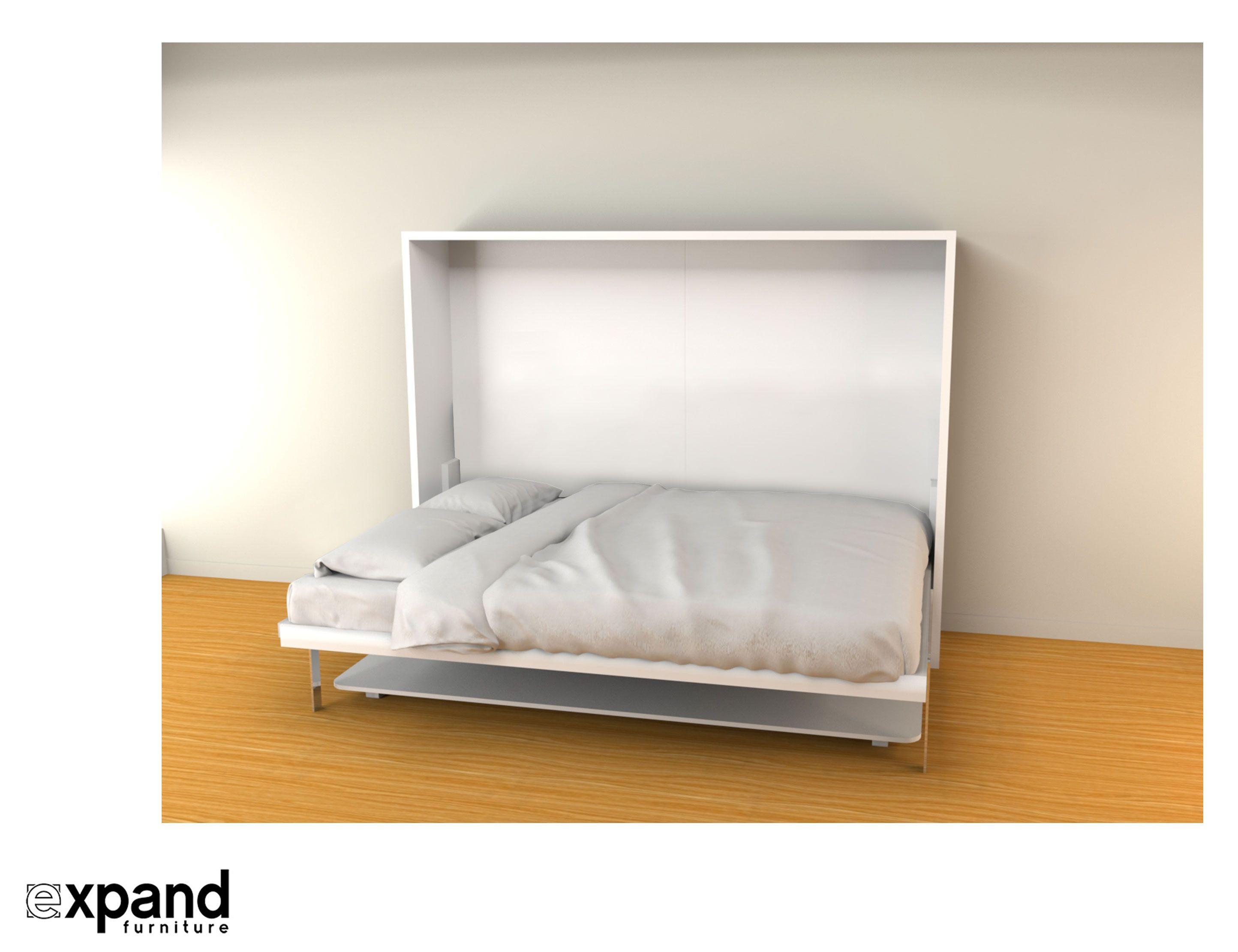 Hover Horizontal Queen Murphy Bed Desk Murphy bed desk