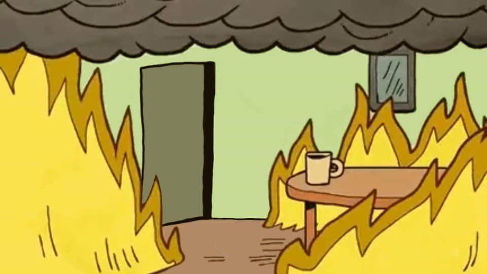 Shell On Twitter Meme Background Meetings Humor Cartoon Background