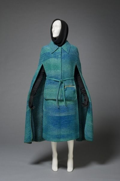 Day Ensemble Cape Skirt and Belt Designer Bonnie Cashin North American 19152000 Date 19