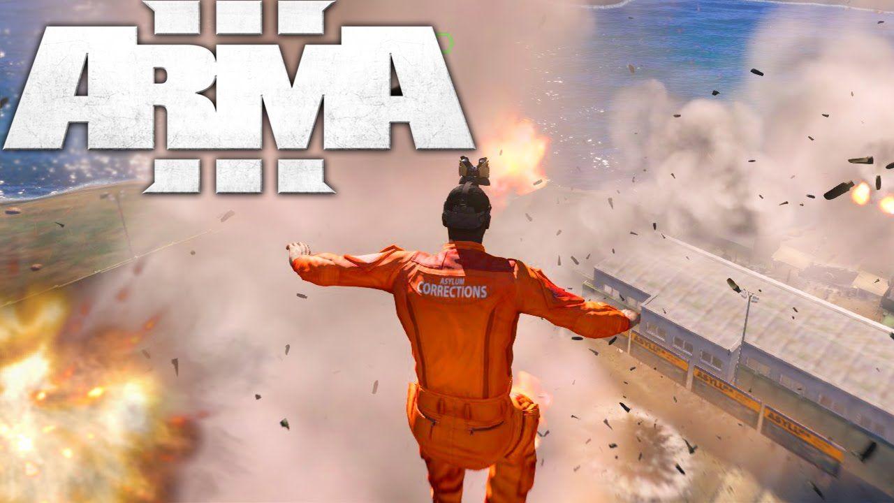 ARMA 3 Life: INSANE PRISON ESCAPE! Arma 3 Altis Life Funny