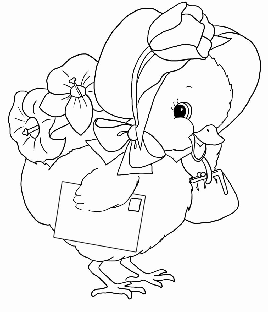 Chicken Nuggets Coloring Page Beautiful Lovely Hen And