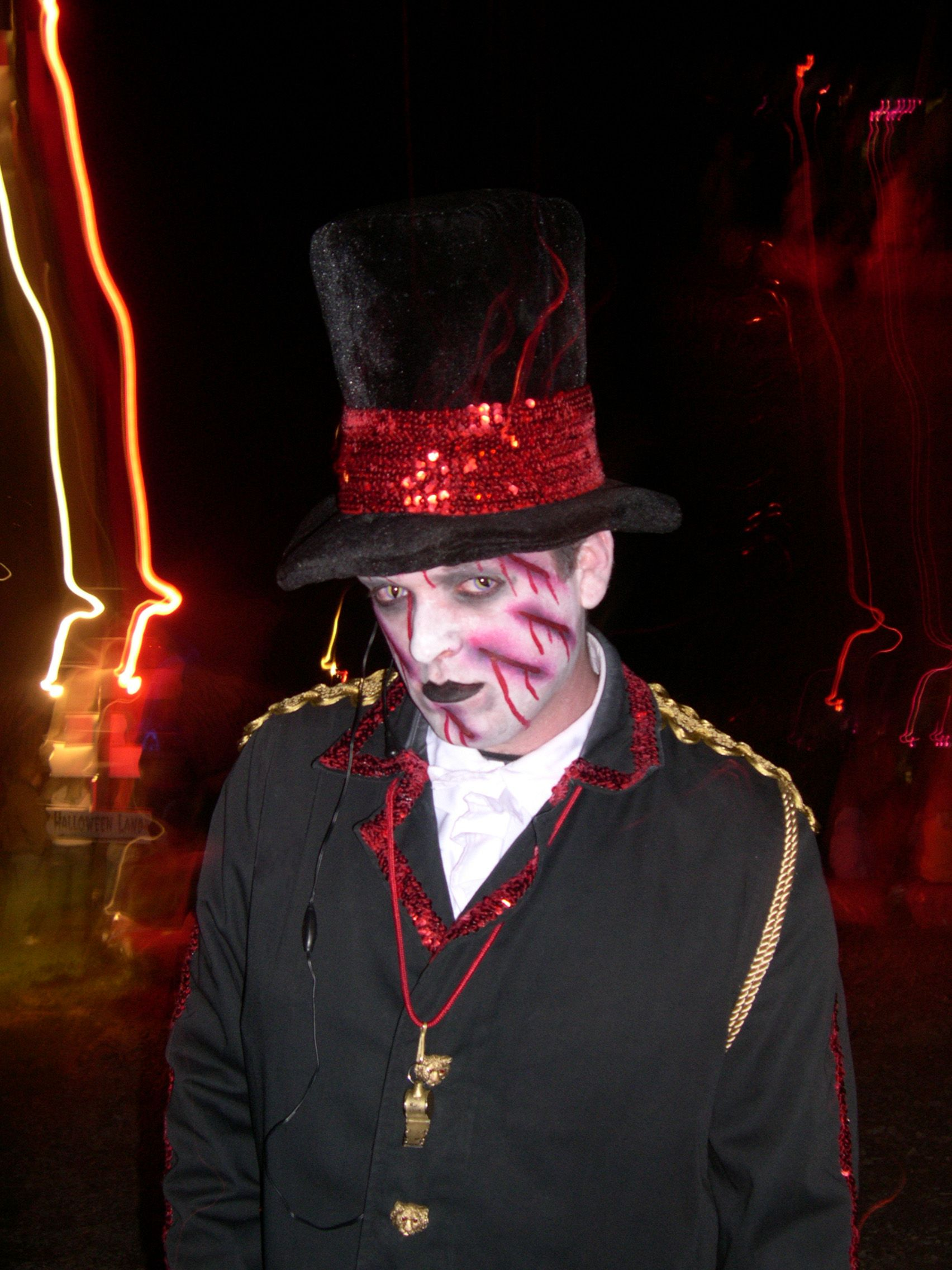 DJ Cir Chris at the Wicked Forest Haunted Attraction in Logan, Ohio