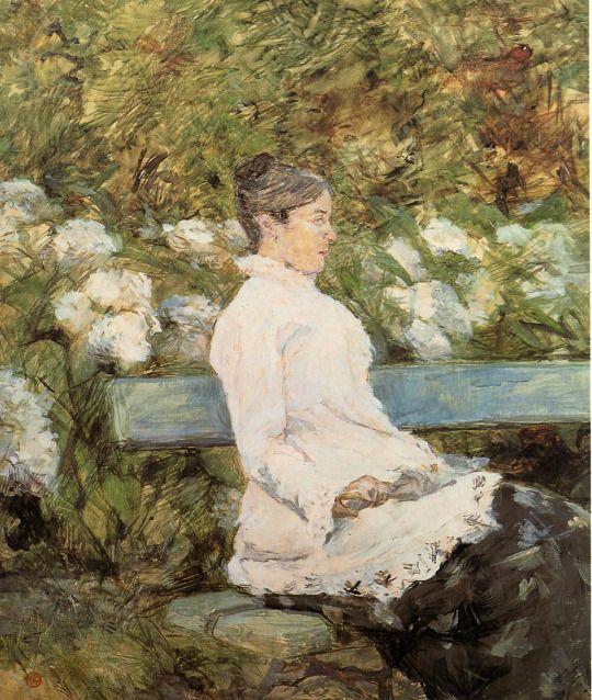 Henri de Toulouse-Lautrec. Madame la Comtesse A. de Toulouse Lautrec.