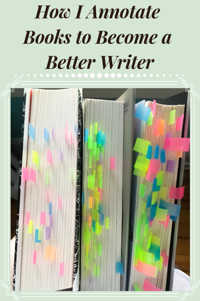 How I Annotate Books to a Better Writer Book