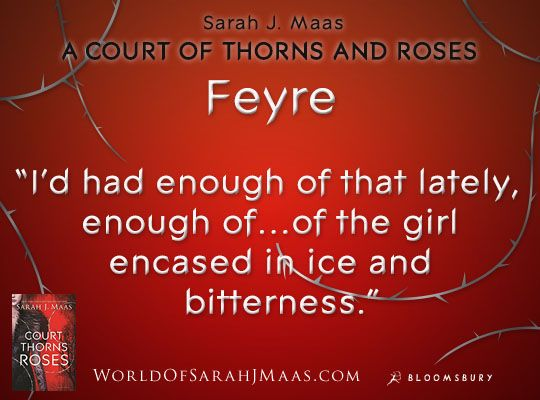 Quote From A Court Of Thorns And Roses By Sarah J Maas Rose