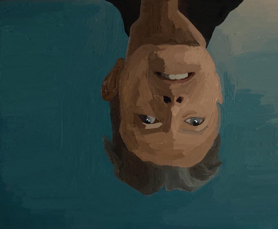 Digital Painting Of Bowie My Drawings Drawings Ipad Drawings