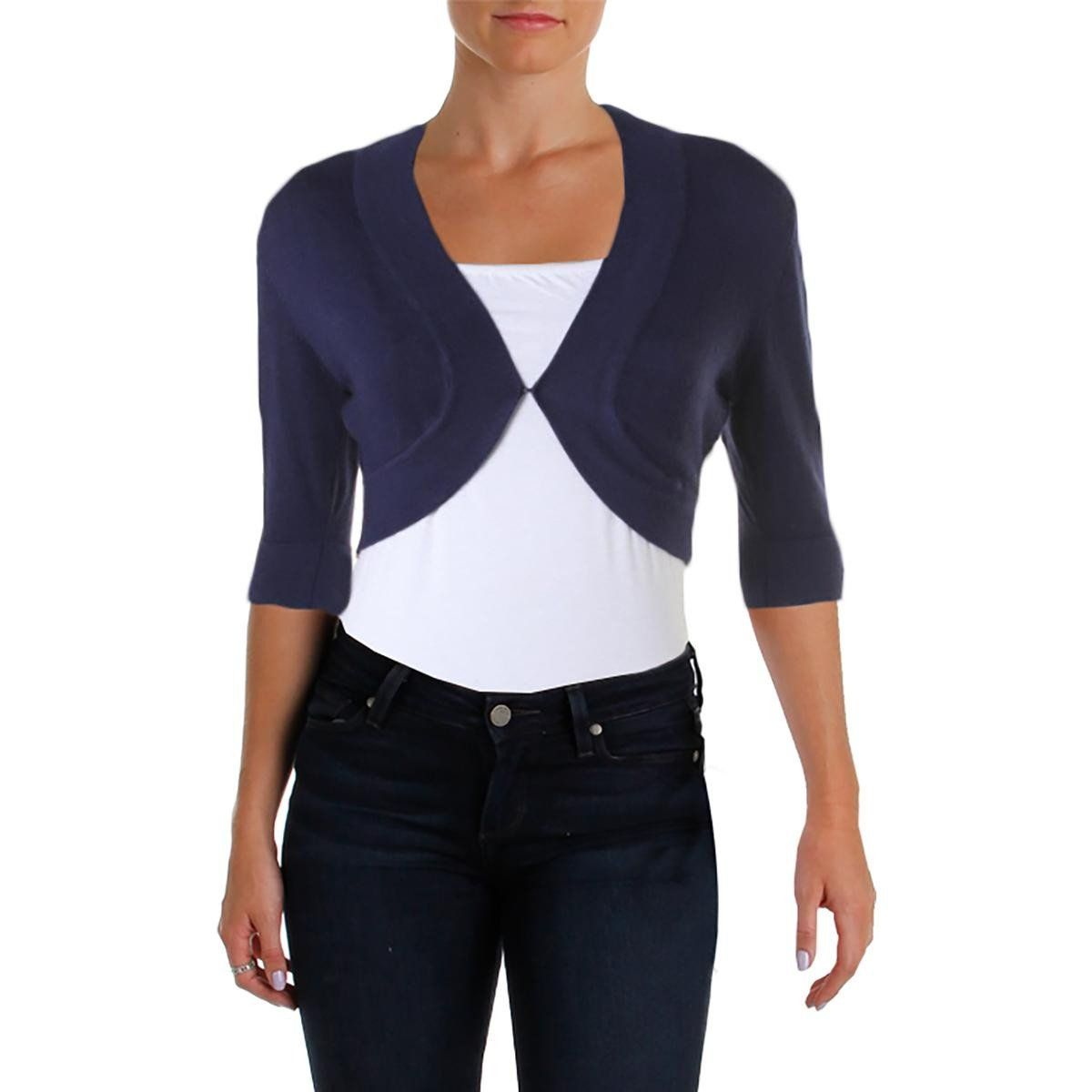 Womens Juniors Knit Cropped Cardigan Sweater | Products